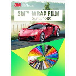 3M 1080 Series GLOSS FIERCE FUCHSIA Vinyl Vehicle Car Wrap Film Sheet Roll G348