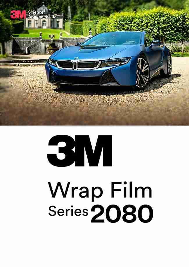 3M 1080 Series SATIN APPLE GREEN Vinyl Vehicle Car Wrap Film Sheet Roll S196