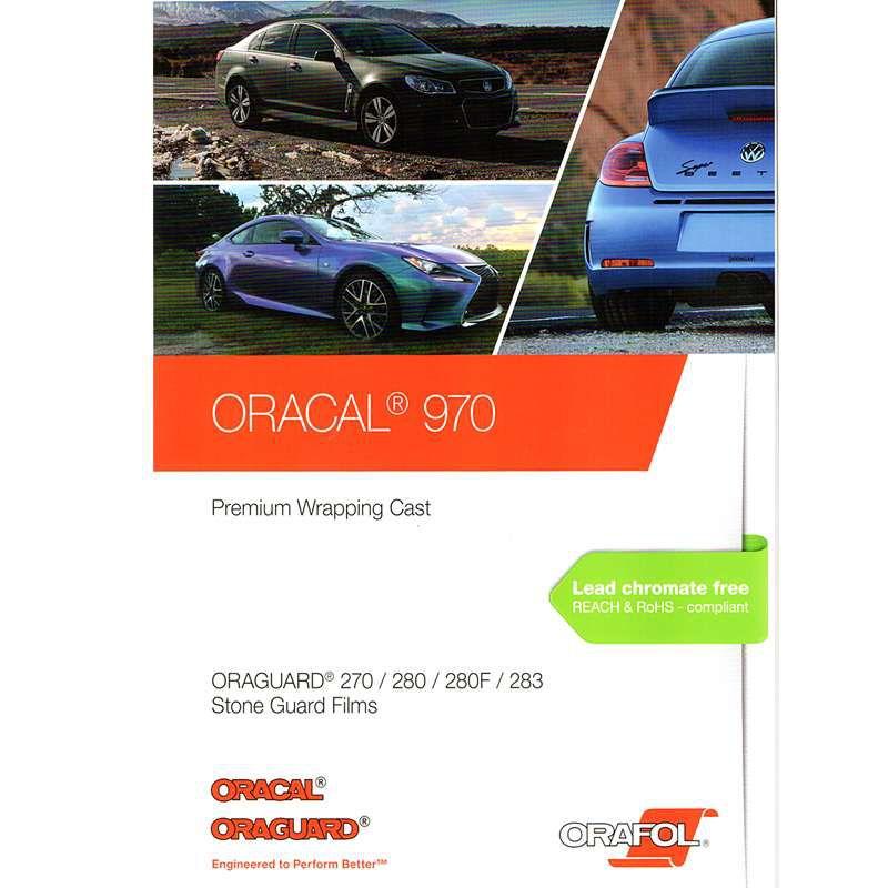 ORACAL 970RA-932M MATTE GRAPHITE METALLIC Vinyl Vehicle Car Wrap Decal Film Roll