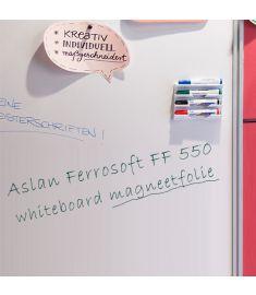 Aslan FF 550 FerroSoft Magnetic Whiteboard 100cm