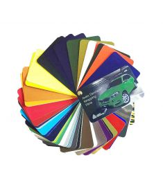Avery Supreme Wrapping Film Color card