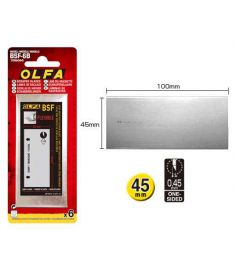 BSF-6B Olfa Flex Blade Unit 6 Pieces/Blister Blade 10cm