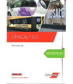Oracal 621 White-Black Transparent 126cm