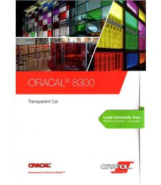 Oracal 8300 Transparent Cal serie 126cm