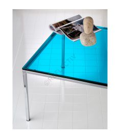 Reflectiv 63545 Turquoise Blue Width 152cm