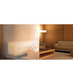 Reflectiv INT 230 Frosted stripes of 30mm/3mm breedte 152cm