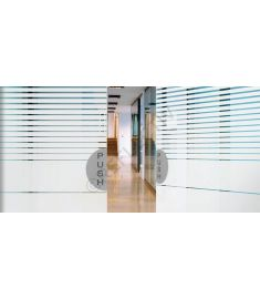 Reflectiv INT 234 Decreasing white stripes breedte 152cm