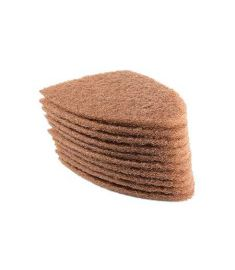 Scrub Pads Brown 10-pack