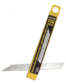 A1160B Olfa Carbon 30° Blade (10 Pack)