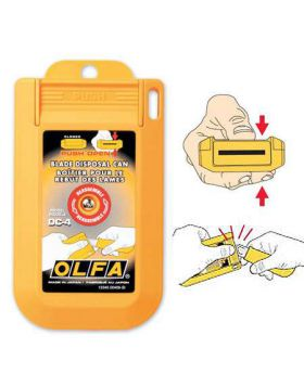 Olfa DC-4 Blade Disposal Case